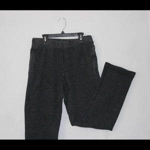Roots Black Salt And Pepper Pants